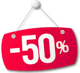 50% descuento outlet